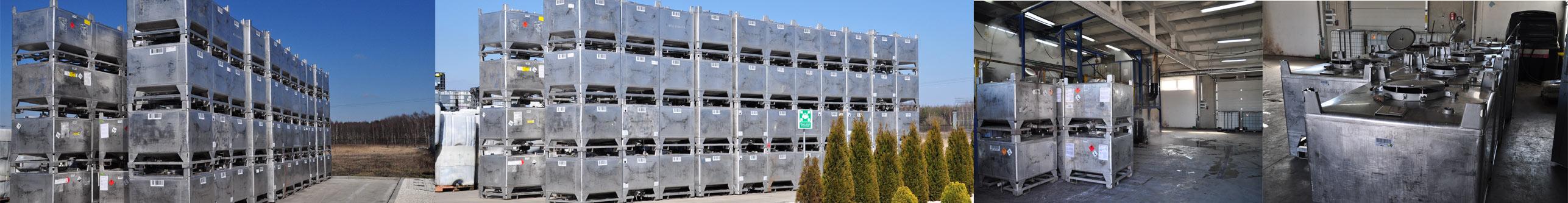 Składowanie zbiorników stalowych i ich regeneracja